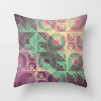 Rainbow 02 Throw Pillow by VessDSign | Society6