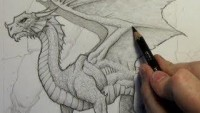 How to Draw a Dragon: Step-By-Step (Narrated Version) - YouTube