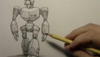 Drawing Time Lapse: Robot - YouTube