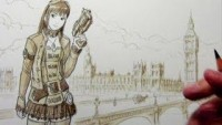 How to Draw Steampunk Characters - YouTube