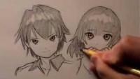 How to Draw Manga Hair, 2 Ways [RE-UPLOAD w/ AUDIO] - YouTube