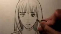"How To Draw a ""Realistic"" Manga Face: Female - YouTube"
