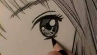How to Draw a Manga Eye, Line by Line - YouTube