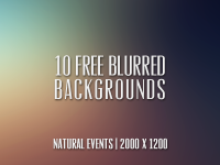 10 (Free) Blurred Backgrounds! by Cat Smith