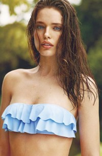 Fashion — Emily Didonato for Oysho Swimwear Summer Campaign
