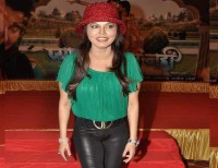 Rakhi Sawant goes to film's music launch without panty!: Wonder Woman - Who are you today?