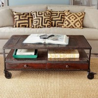 French Industrial Coffee Table | Wisteria