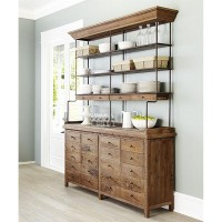 Reclaimed Pine Bookcase | Wisteria