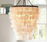 Capiz Chandelier - Large | Pottery Barn