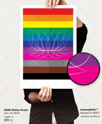 Aura Padma Poster by ~gufranshaikh