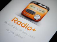 Radio App Splash Screen (@2x) by borislav