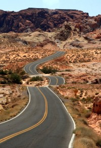 F&O Forgotten Nobility - cr4ck: Winding road in the Valley of Fire State...