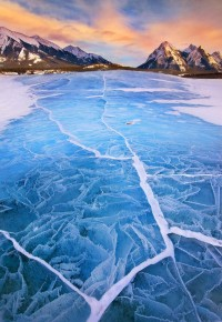 "500px / Photo ""Lake Abraham in Winter"" by Long Nguyen"