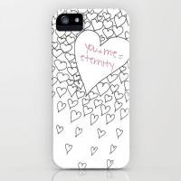 Hearts iPhone Case by M?nika Strigel | Society6