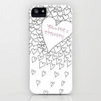 Hearts iPhone Case by M?nika Strigel   Society6
