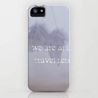 WE ARE ALL TRAVELLERS iPhone Case by SUNLIGHT STUDIOS   Society6