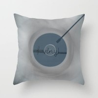 Vinyl Throw Pillow by Viviana González | Society6