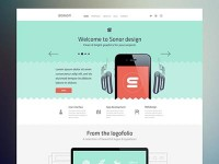 Sonor Website by Cosmin Capitanu