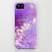 abstract in purple iPhone Case by agnes Trachet | Society6