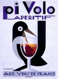Pivolo Aperitif by A.M. Cassandre - Vintage Alcohol Poster
