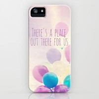 there's a place out there for us iPhone Case by Sylvia Cook Photography | Society6