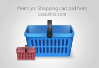 Beautiful Free Shopping Cart Icon PSD - Freebie No:2