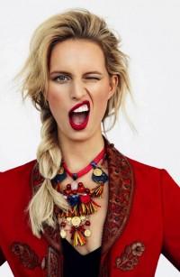 Fashion — Karolina Kurkova by Branislav Simoncik for Elle Czech