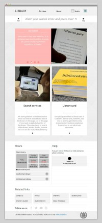The Web Aesthetic — Chalmers Library