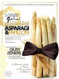 Cena Asparagi e Papillon a Bassano
