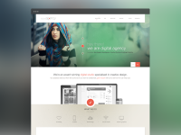 Home Page preview by themecurve