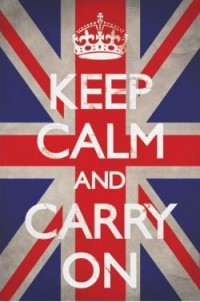 Keep Calm & Carry On posters - Keep Calm & Carry On Union Jack poster PP32076 - Panic Posters