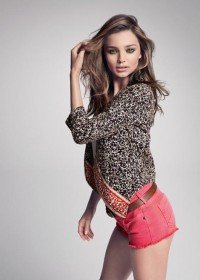 Fashion — Miranda Kerr by Inez van Lamsweerde and Vinoodh Matadin for Mango Summer Campaign
