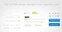 Download Free UI Web Design Elements PSD - Freebie No: 17