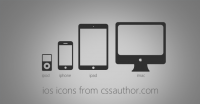 Excellent iOS Devices Icons PSD for Free Download - Freebie No: 30