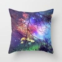 look to the stars Throw Pillow by Sylvia Cook Photography | Society6