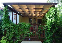 We install pergolas, trellises, and covered sheds, working with Cedar, Ipe, Pressure Treated Pine, and more. We custom scroll cut rafter ends and hand make lattice.
