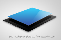 Beautiful iPad Mockup Template PSD for Free Download - Freebie No: 40