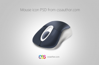 Download Free Mouse Icon PSD from CSS Author - Freebie No: 50