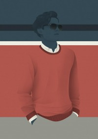 Vintage Mid-Century Illustrations by Jack Hughes | inspirationfeed.com