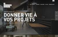 La Parqueterie Nouvelle - Stores parquet decks and accessories - Webdesign inspiration www.niceoneilike.com