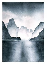 Li River Watercolor by *The-Starhorse