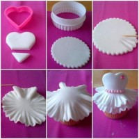 DIY Ballerina Cupcake DIY Projects | UsefulDIY.com