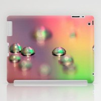 water drops iPad Case by Sylvia Cook Photography | Society6