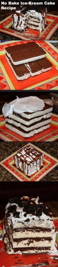 DIY No Bake Ice Cream Cake DIY Projects   UsefulDIY.com