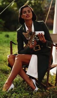 Fashion — Irina Shayk by Sebastian Faena for Harper's Bazaar UK