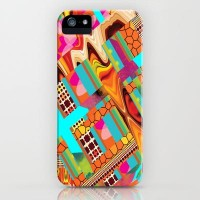 Collage Love-Orange Digi iPhone Case by Nina May | Society6