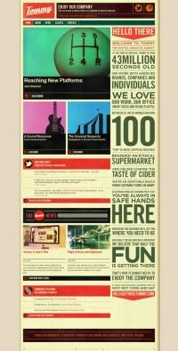Tommy - Digital Creative Agency - Webdesign inspiration www.niceoneilike.com