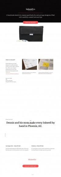 Inkwell - Pen before pixel - Webdesign inspiration www.niceoneilike.com