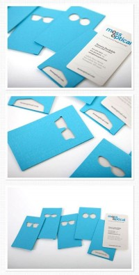 30 Inspiring Blue Business Cards - Smashfreakz