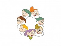 Seven Dwarfs - 7 Cüceler Vector Logo - LOGO DESIGN ELEMENTS - Cartoon : LogoWik.com